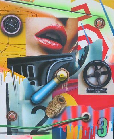 Peter Klasen, 'Bouche Volant 3', 2015