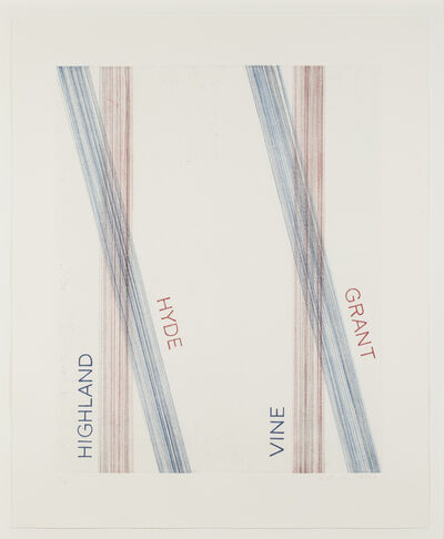 Ed Ruscha, 'L.A.S.F. #2, 2003', 2003