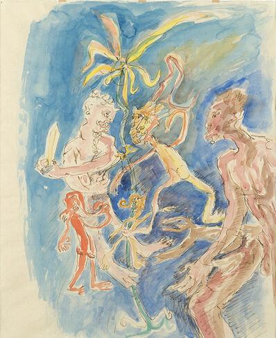 Tancredi, 'Fauni', 1960