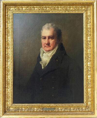 Sir Henry Raeburn, '     Half Length Portrait of Mr. Robertson', 1790-1810