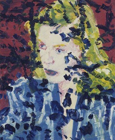 Friedemann Hahn, 'Ohne Titel (Kopf/Lauren Bacall)', 2004