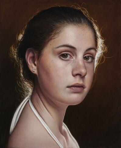 Duffy Sheridan, 'Young Girl Looking to the Right'