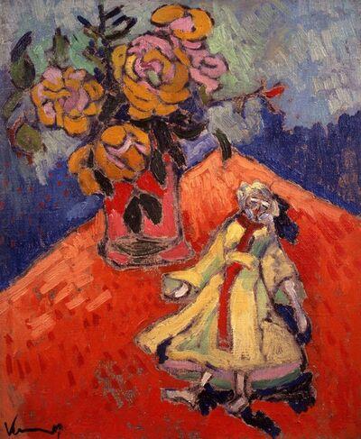 Maurice de Vlaminck, 'Poupée et vase'