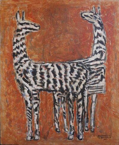 Iván Castellón, 'C llama cebra', 2017