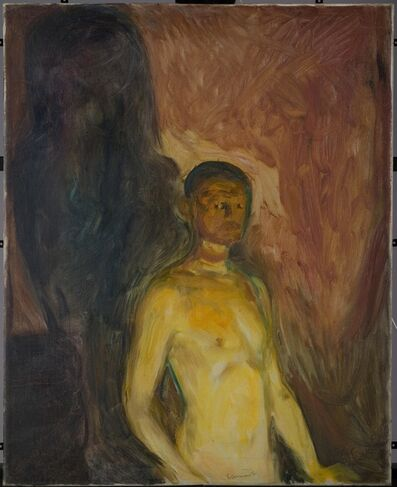 Edvard Munch, 'Selvportrett i helvete (Self-Portrait in Hell)', 1903