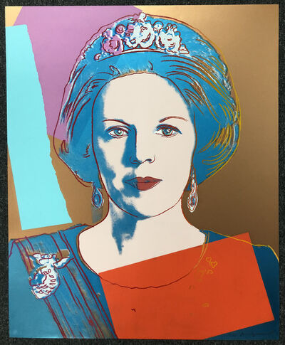 Andy Warhol, 'Queen Beatrix of the Netherlands', 1985