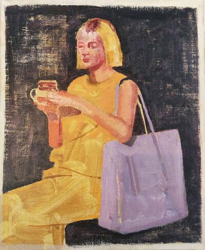 Ian Grose, 'Karin with yellow hair and rooibos', 2019