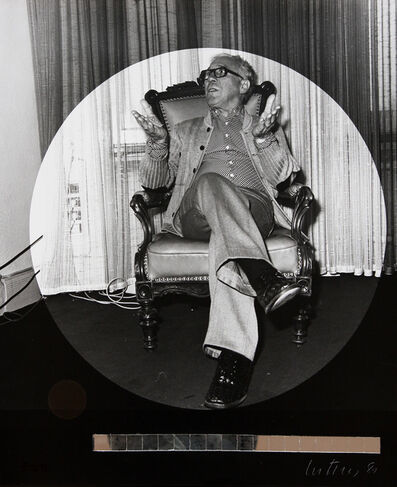 Adolf Luther, 'Portrait Adolf Luther (Photo from Zoa) ', 1981