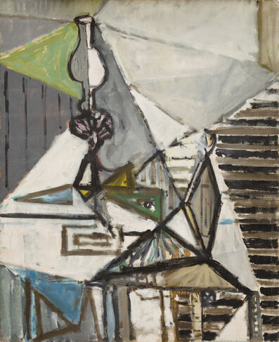 Paul Resika, 'Lamp, Chair and Skull (Provincetown)', 1947