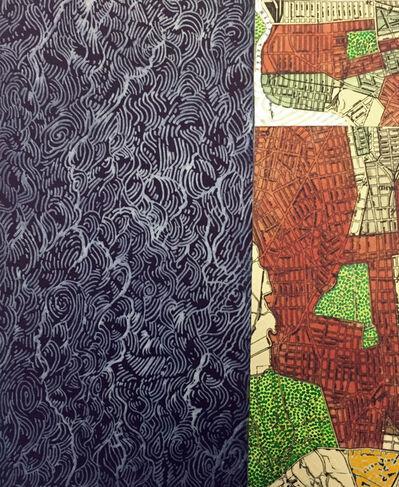 Joyce Kozloff, 'Waving II', 2016