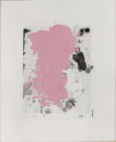 Christopher Wool, 'Portraits (Red) 2', 2014