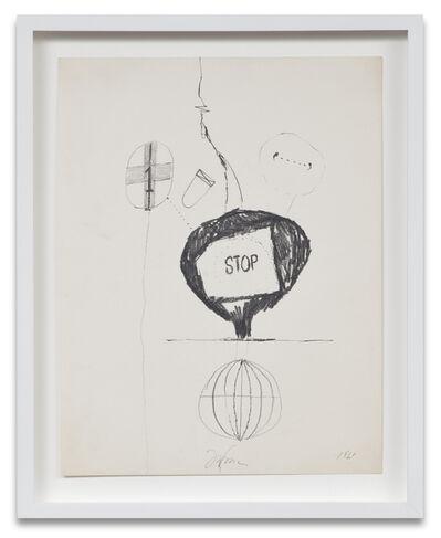 Joe Goode, 'Bomb Drawing 4', 1961
