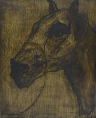 Kandis Cook, 'Gold horse VII', ca. 2018