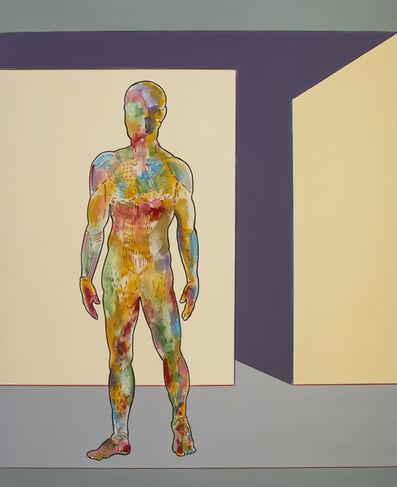 Renato Mambor, 'Uomo succoso', 2008