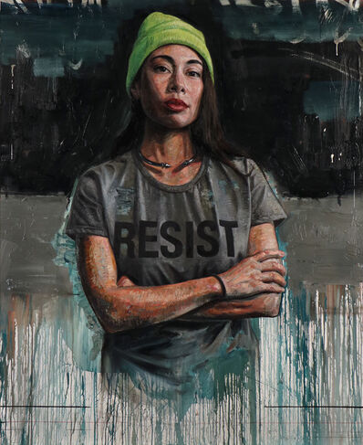 Tim Okamura, 'resist', 2019