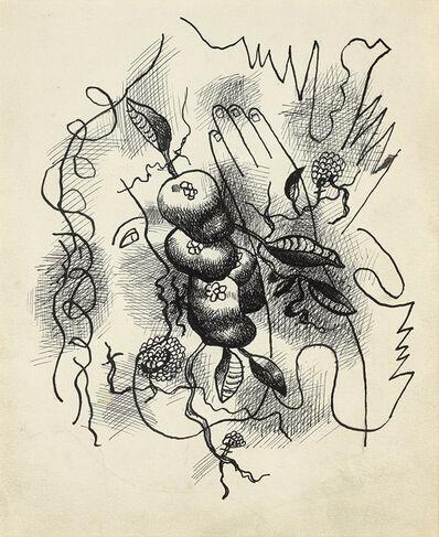 Fernand Léger, 'Composition au profil et à la main', 1941