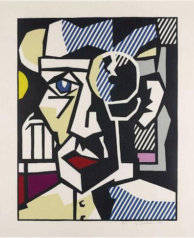 Roy Lichtenstein, 'Dr. Waldmann (from Expressionist Woodcuts)', 1980