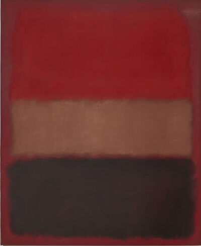 Mark Rothko, 'No. 46 (Black, Ochre, Red Over Red)', 1957