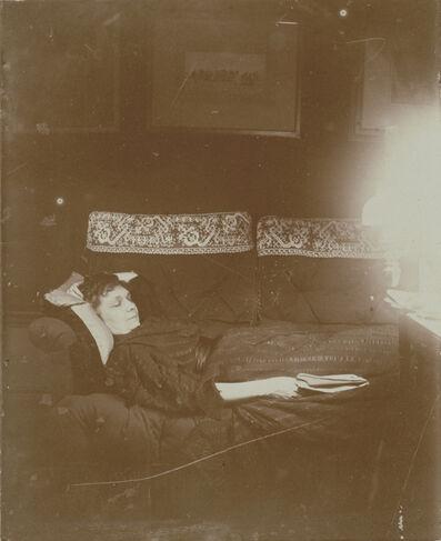 Edgar Degas, 'Louise Hal'vy Reclining', 1895