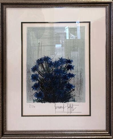 Bernard Buffet, 'Fleur Bleu', ca. 1980