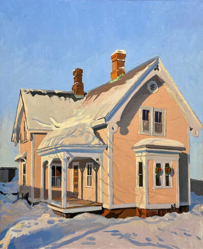 George Nick, 'Gingerbread House, Concord', 1982