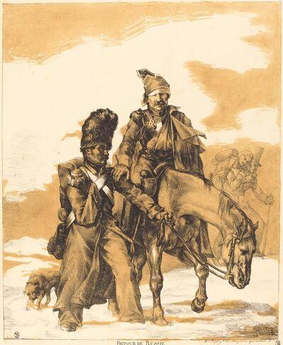 Théodore Géricault, 'Retreat from Russia (Retour de Russie)', 1818