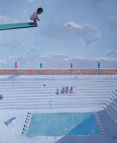 Tang Zhigang 唐志剛, 'Chinese Fairy Tale - Diving 中国童话 - 跳⽔', 2007