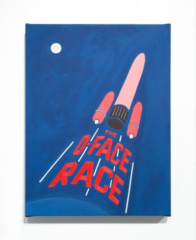 Alexandra Rubinstein, 'The O-Face Race', 2015
