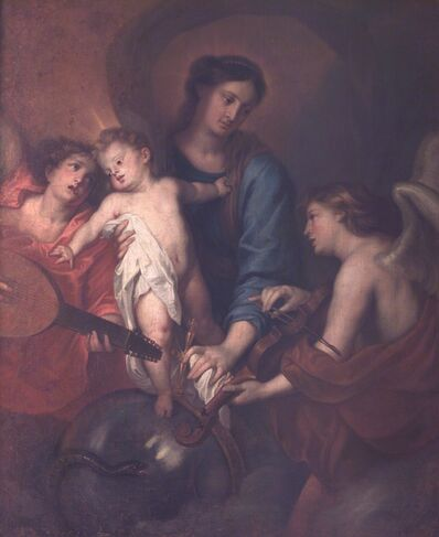 Anthony van Dyck, ' Madonna and Child with angel musicians', XVII sec.