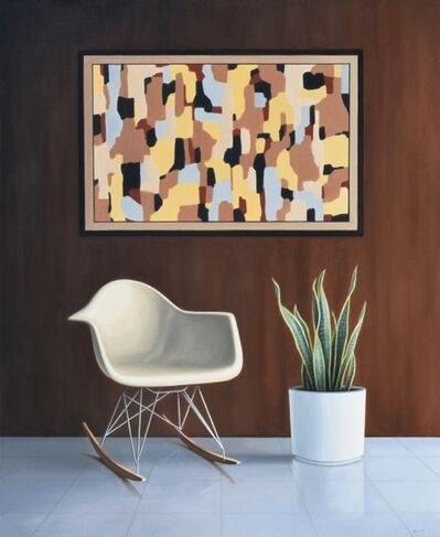 Danny Heller, 'Eames Chair and Painting ', 2019