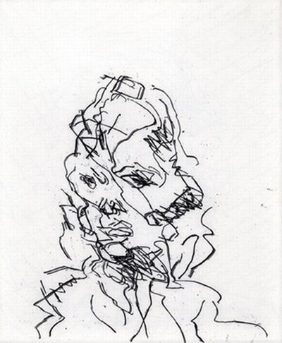 Frank Auerbach, 'Catherine', 1989-1990
