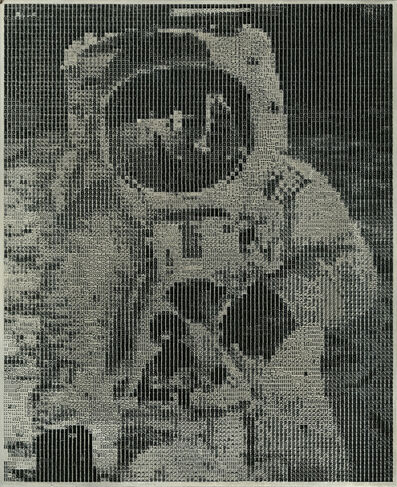 Naomi Savage, 'Astronaut Comparable Print Out', 1969