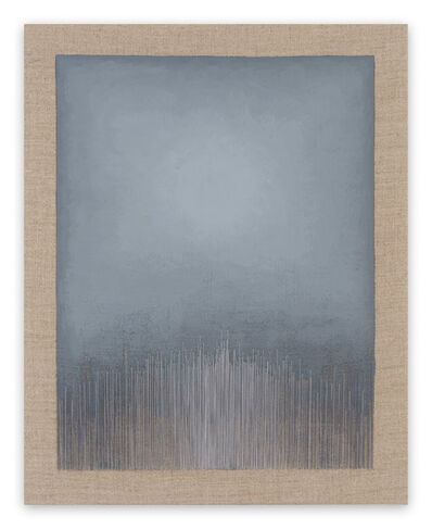 Audrey Stone, 'Grey (Abstract painting)', 2017