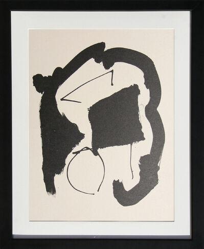 Robert Motherwell, 'Octavio Paz, Three Poems XXV', 1987