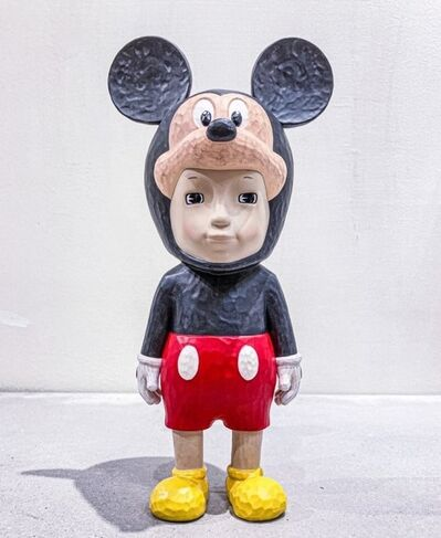 Satoru Koizumi, 'With Mickey Sculpture', 2020