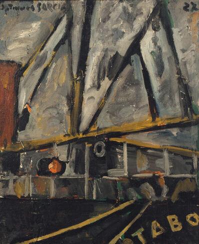 Joaquín Torres-García, 'Fragmento de barco (Tabo)', 1927