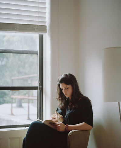 Carrie Schneider, 'Diana reading Anne Carson (Autobiography of Red, 1999) from the series Reading Women (2012–2014)', 2014