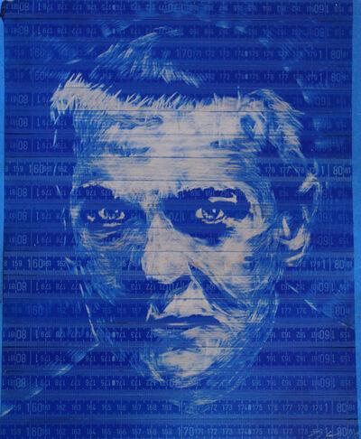 Pedro Tyler, 'Georg Trakl (Blue Portrait)', 2018