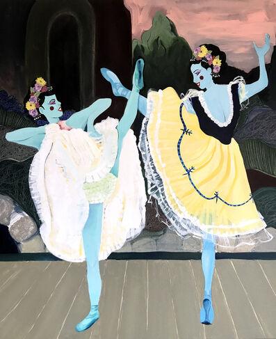 Louise Allen, 'Blue Dancers in the Moonlight', 2020