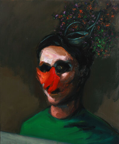 Szabolcs Veres, 'Garden Head', 2016