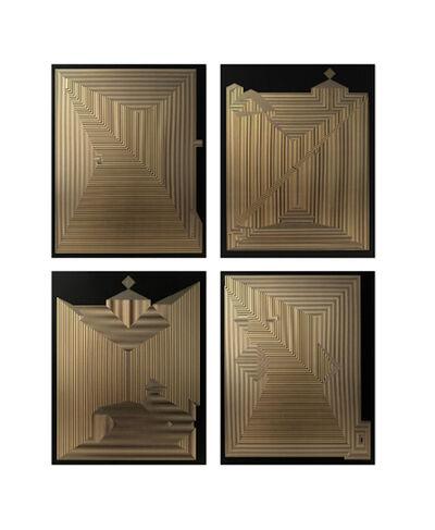 Francisco Larios, 'Untitled 23, Untitled 18, Untitled 12 & Untitled 22 Quadriptych ', 2019