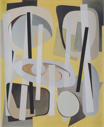 Alice Trumbull Mason, 'Bearings Charted with Yellow', 1946