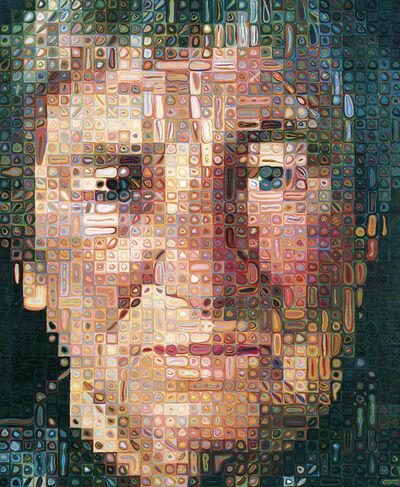 Chuck Close, 'Agnes', 1998
