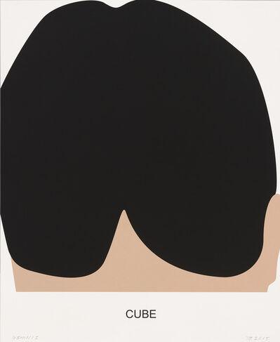 John Baldessari, 'Cube', 2016