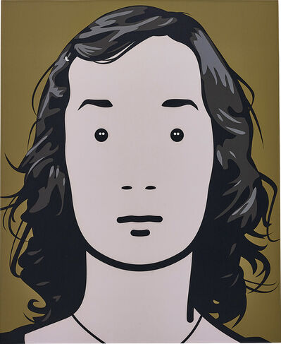Julian Opie, 'Fiona, artist. 4.', 2001