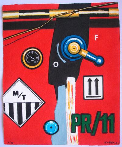 Peter Klasen, 'PR/11'