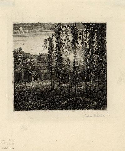 Graham Sutherland, 'Cray Field', 1925