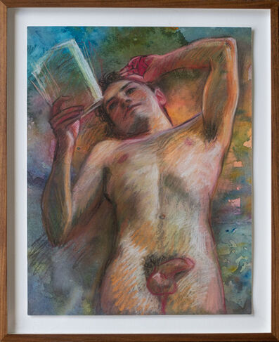 TM Davy, 'Liam with Book', 2018
