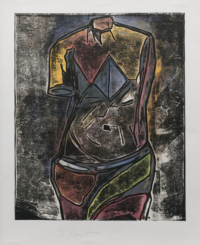 Jim Dine, 'The Little One (1st version)', 2003