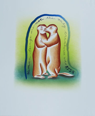 Judy Chicago, 'In Praise of Prairie Dogs', 2019